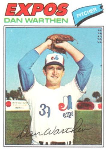 Photo of 1977 Topps #391 Dan Warthen