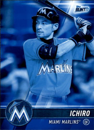 Photo of 2017 Topps Bunt Blue #150 Ichiro