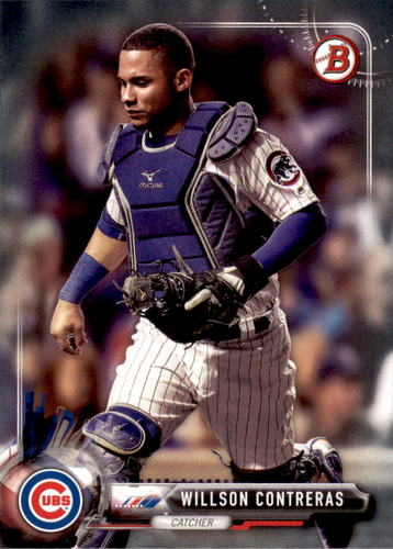 Photo of 2017 Bowman #46 Willson Contreras Cubs post-season
