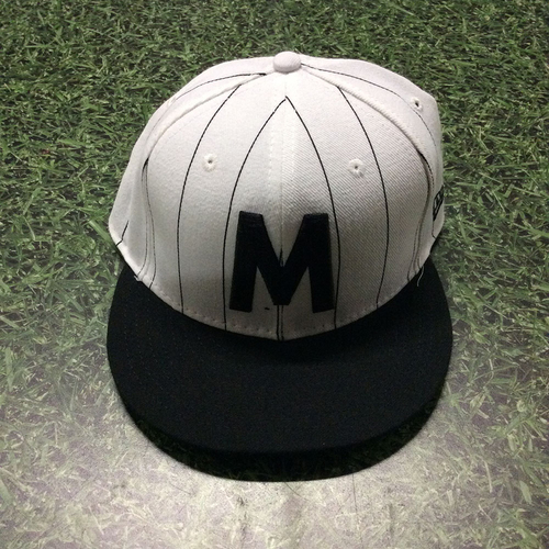 Photo of Marcus Hanel 2017 Milwaukee Bears Game-Used Cap