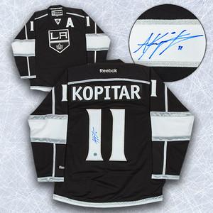 Anze Kopitar Los Angeles Kings Autographed Reebok Premier Jersey