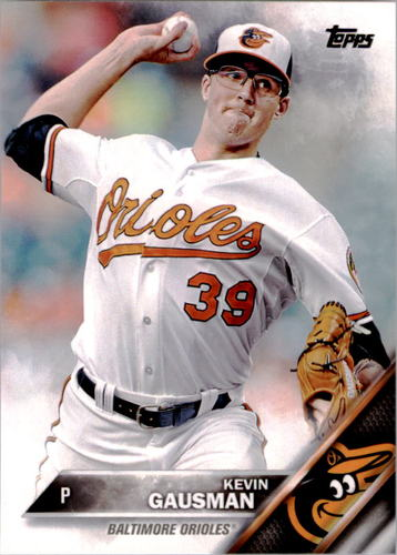 Photo of 2016 Topps #180 Kevin Gausman