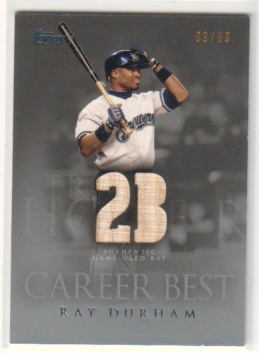 Photo of 2009 Topps Career Best Relics Silver #RD Ray Durham Bat S2