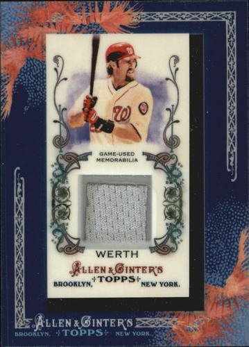 Photo of 2011 Topps Allen and Ginter Relics #JW Jayson Werth