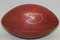 49ERS - DONTE WHITNER SIGNED AUTHENTIC FOOTBALL