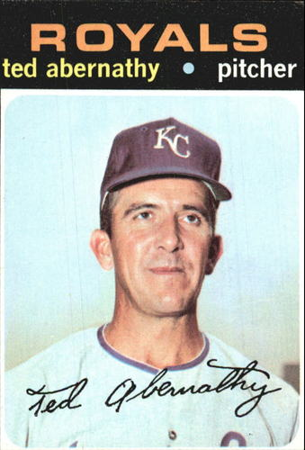 Photo of 1971 Topps #187 Ted Abernathy