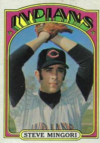 Photo of 1972 Topps #261 Steve Mingori