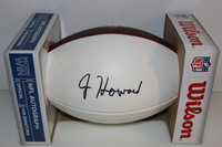 NFL - BEARS JORDAN HOWARD SIGNED PANEL BALL