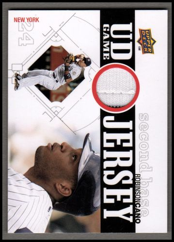 Photo of 2010 Upper Deck UD Game Jersey #RC Robinson Cano