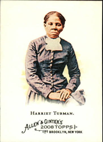 Photo of 2008 Topps Allen and Ginter #183 Harriet Tubman