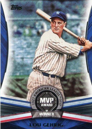 Photo of 2017 Topps Update MVP Award #MVP27 Lou Gehrig