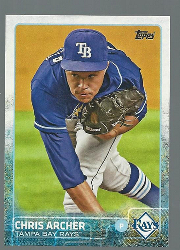 Photo of 2015 Topps #324 Chris Archer