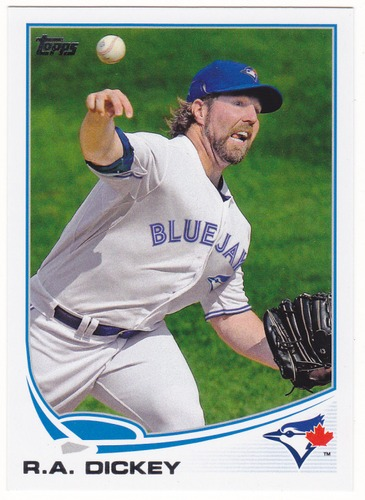 Photo of 2013 Topps #554 R.A. Dickey
