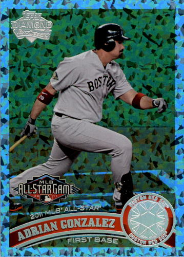 Photo of 2011 Topps Update Hope Diamond Anniversary #US20 Adrian Gonzalez