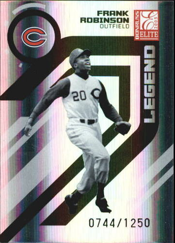 Photo of 2005 Donruss Elite #158 Frank Robinson RET