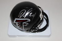 NFL - FALCONS DEVONTA FREEMAN SIGNED FALCONS MINI HELMET