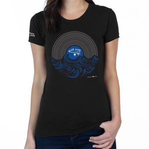 Toronto Blue Jays Women's Record Set T-Shirt by SustainU