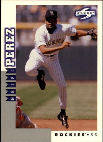 Photo of 1998 Score Rookie Traded #80 Neifi Perez
