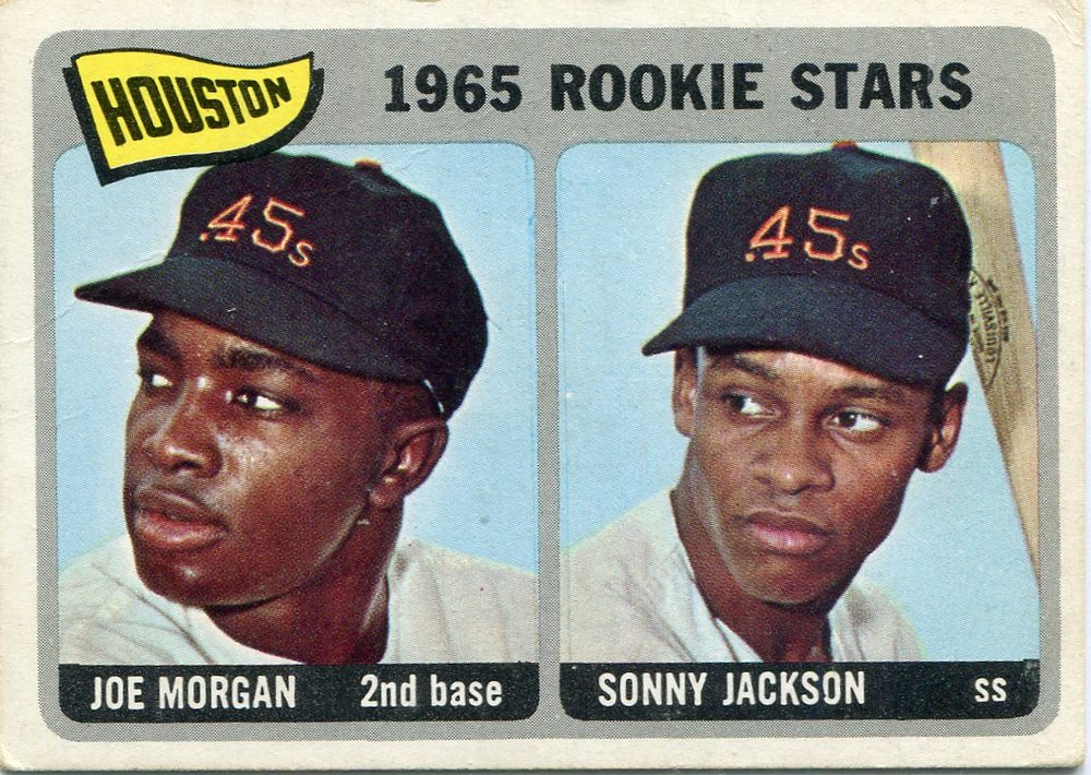1965 Topps #16 Rookie Stars/Joe Morgan Rookie Card/Sonny Jackson RC