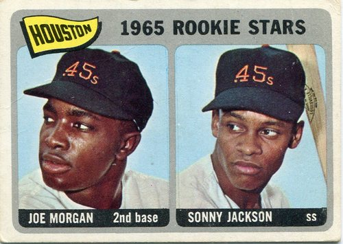 Photo of 1965 Topps #16 Rookie Stars/Joe Morgan Rookie Card/Sonny Jackson RC