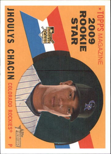 Photo of 2009 Topps Heritage #512 Jhoulys Chacin RC