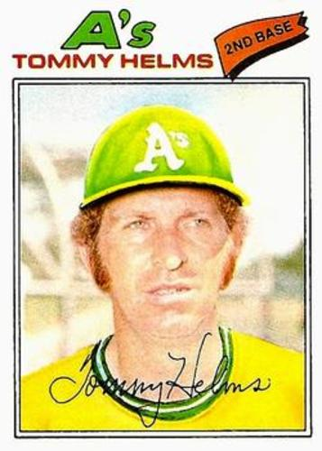 Photo of 1977 Topps #402 Tommy Helms