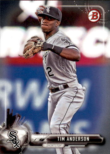 Photo of 2017 Bowman #47 Tim Anderson