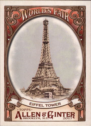 Photo of 2017 Topps Allen and Ginter World's Fair #WF6 Eiffel Tower/Exposition Universelle