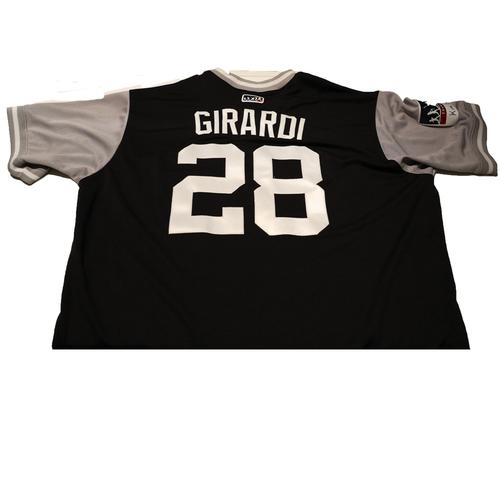 """Photo of Joe """"Girardi"""" Girardi New York Yankees Game-Used Players Weekend Jersey"""