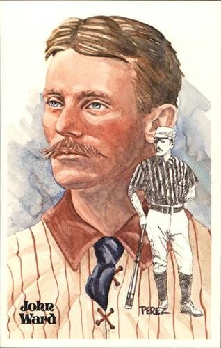 Photo of 1980-02 Perez-Steele Hall of Fame Postcards #101 John Ward -- Set #08689