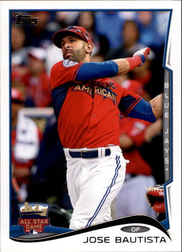 Photo of 2014 Topps Update #US173 Jose Bautista