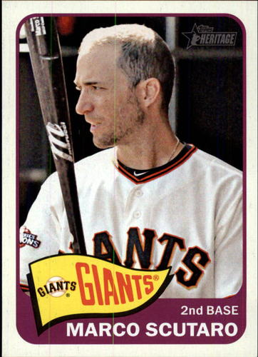 Photo of 2014 Topps Heritage #389 Marco Scutaro