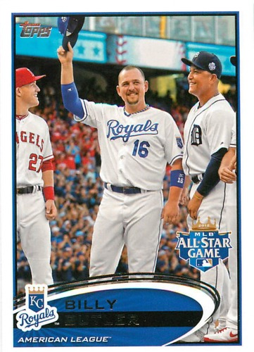 Photo of 2012 Topps Update #US37A Billy Butler