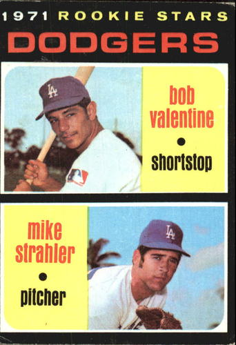 Photo of 1971 Topps #188 Rookie Stars/Bob Valentine RC/Mike Strahler RC