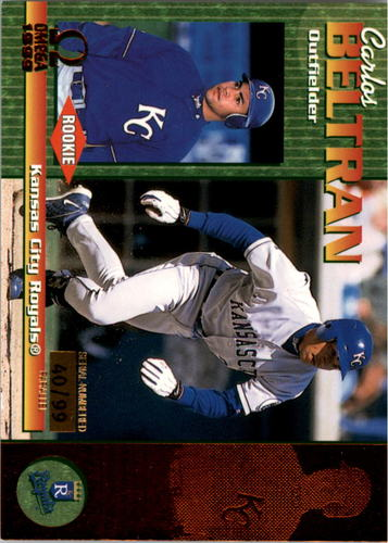 Photo of 1999 Pacific Omega Copper #111 Carlos Beltran