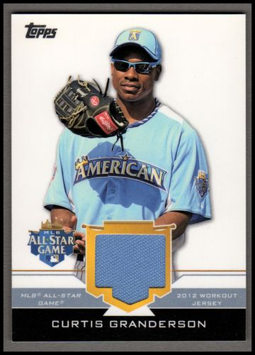 Photo of 2012 Topps Update All-Star Stitches #CUG Curtis Granderson