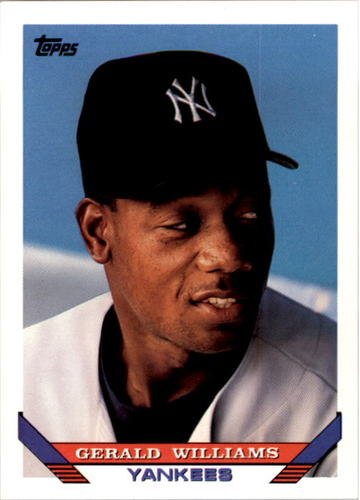 Photo of 1993 Topps #654 Gerald Williams