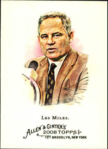 Photo of 2008 Topps Allen and Ginter #187 Les Miles
