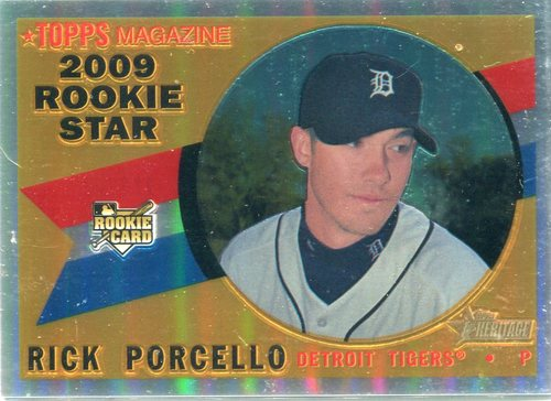 Photo of 2009 Topps Heritage Chrome Refractors #CHR171 Rick Porcello