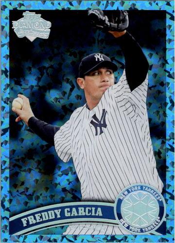 Photo of 2011 Topps Update Hope Diamond Anniversary #US77 Freddy Garcia