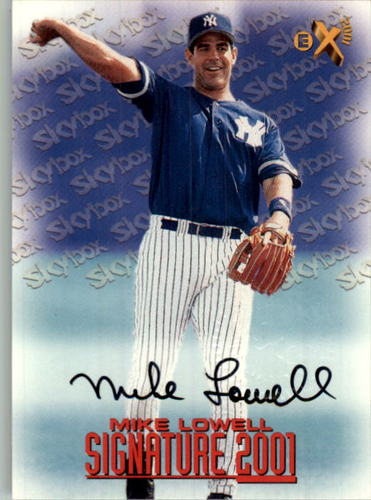 Photo of 1998 E-X2001 Signature 2001 #17 Mike Lowell