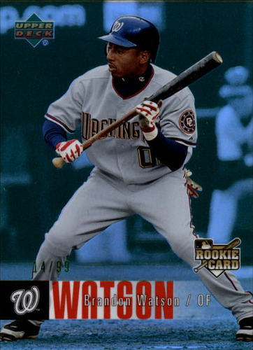 Photo of 2006 Upper Deck Special F/X Green #962 Brandon Watson /99