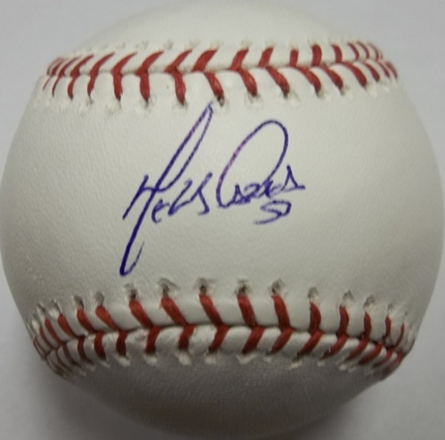 Photo of Melky Cabrera Autographed Baseball