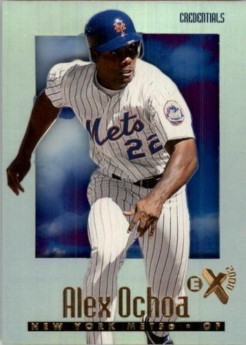 Photo of 1997 E-X2000 Credentials #86 Rey Ordonez