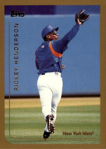 Photo of 1999 Topps #277 Rickey Henderson