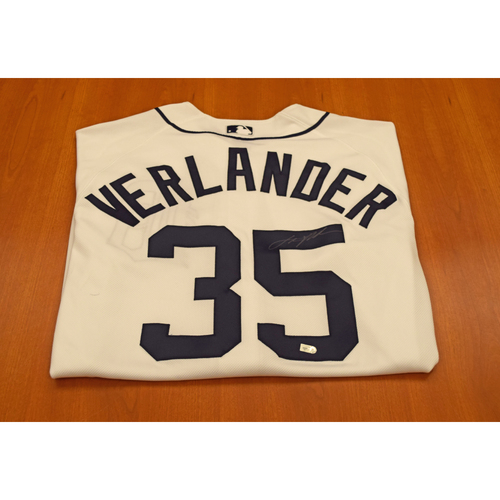 Photo of Justin Verlander Autographed Detroit Tigers Jersey (MLB Authentic)