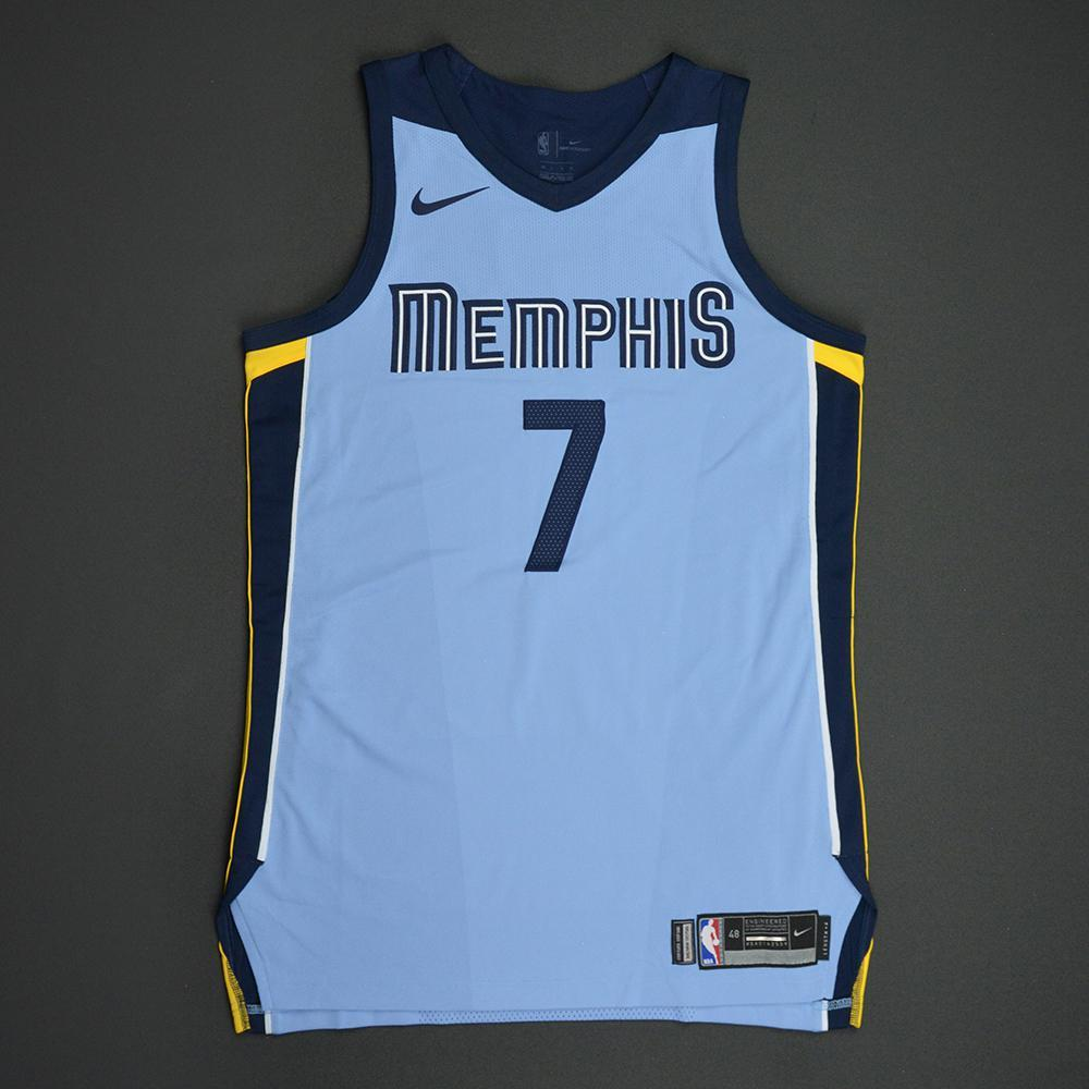Wayne Selden - Memphis Grizzlies - Statement Game-Issued Jersey  - 2017-18 Season