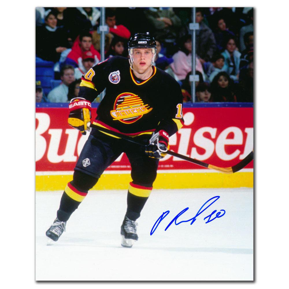 Pavel Bure Vancouver Canucks 1994 FINALS Autographed 8x10