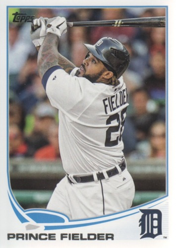 Photo of 2013 Topps #28A Prince Fielder