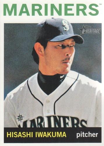 Photo of 2013 Topps Heritage #122 Hisashi Iwakuma